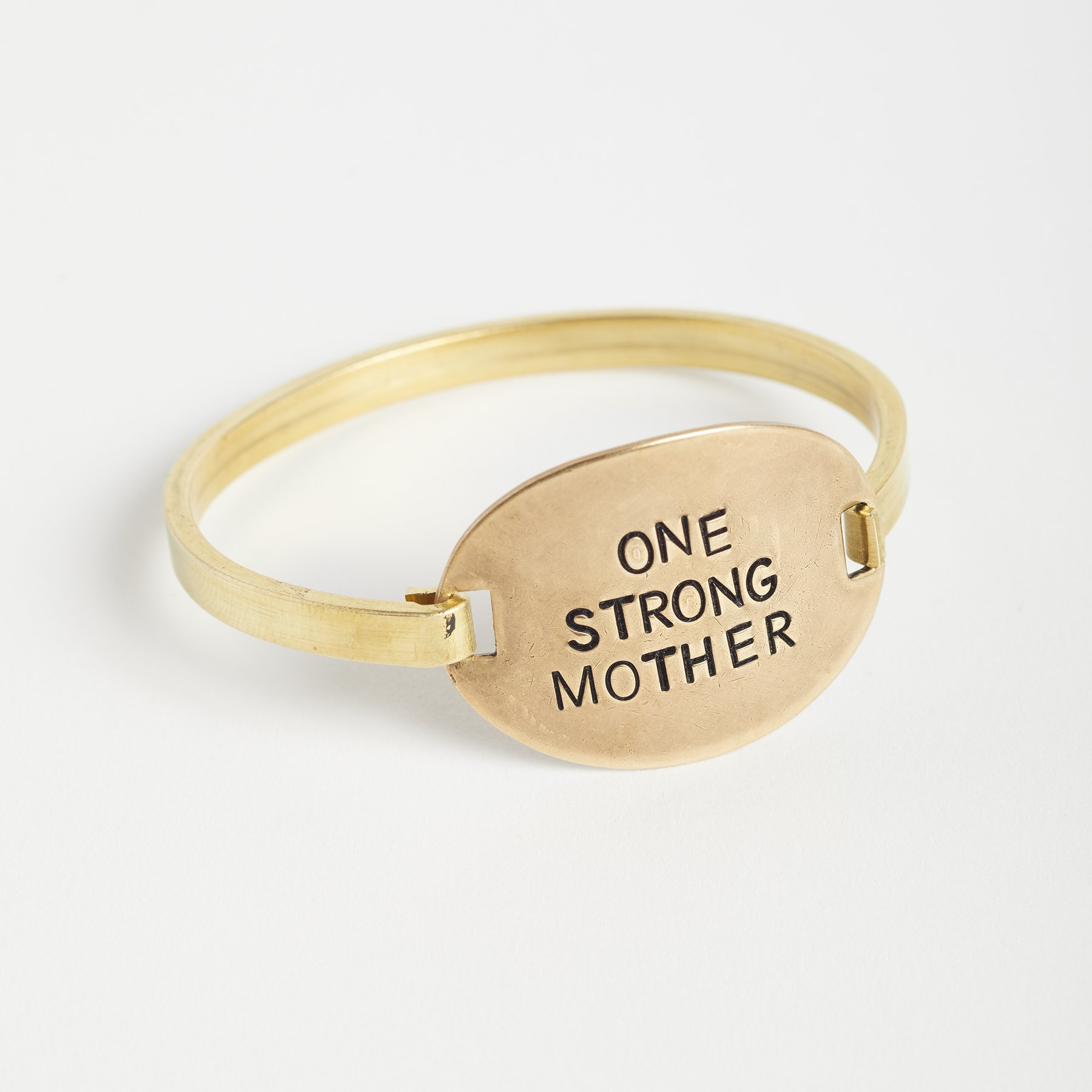 Scary Mommy One Strong Mother oval bracelet-best gifts for moms