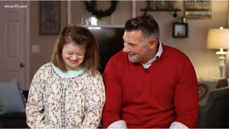 Louisville dad inspired to share smiles