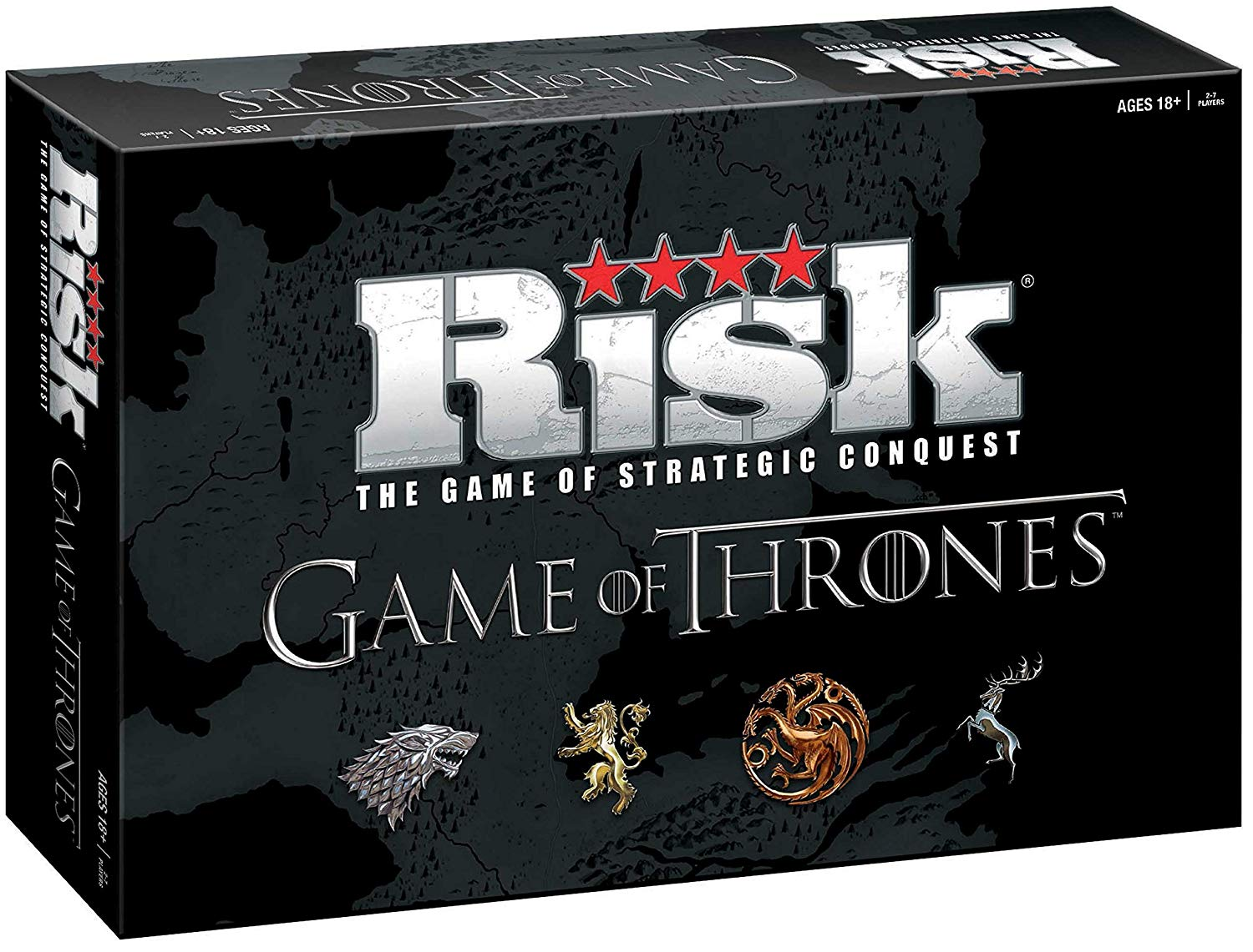 USAOPOLY Risk Game of Thrones Strategy Board Game