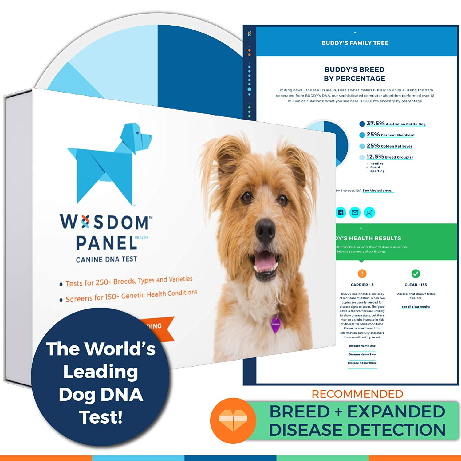 Canine DNA Test - Wisdom Panel