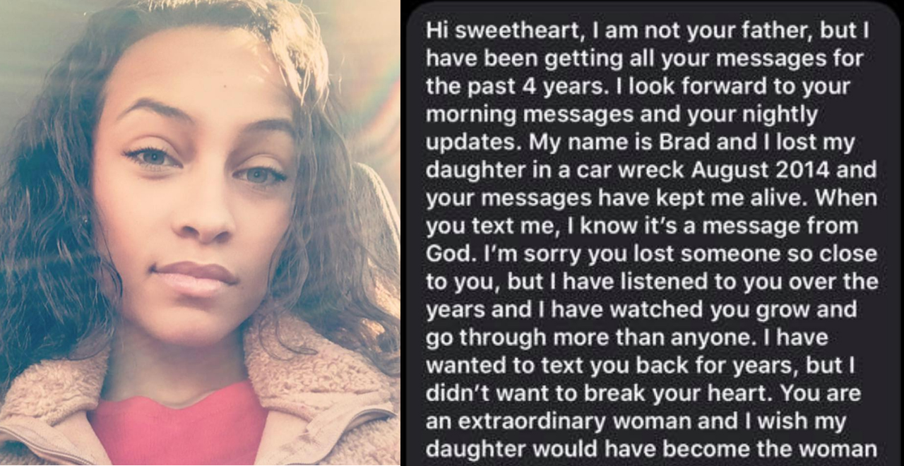 Woman Texts Dad Who Passed, Gets Response