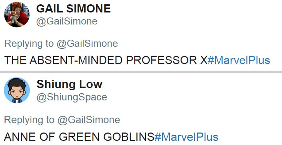 Make Believe Marvel Plus Titles