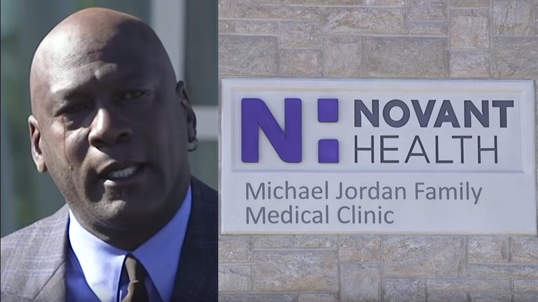 Michael Jordan Opens Clinic