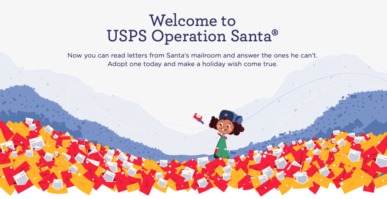 Operation Santa lets people answer letters to Santa