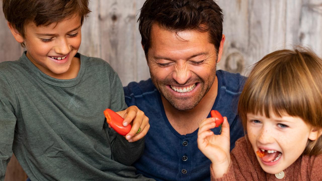 Misha and Adventurous Eaters