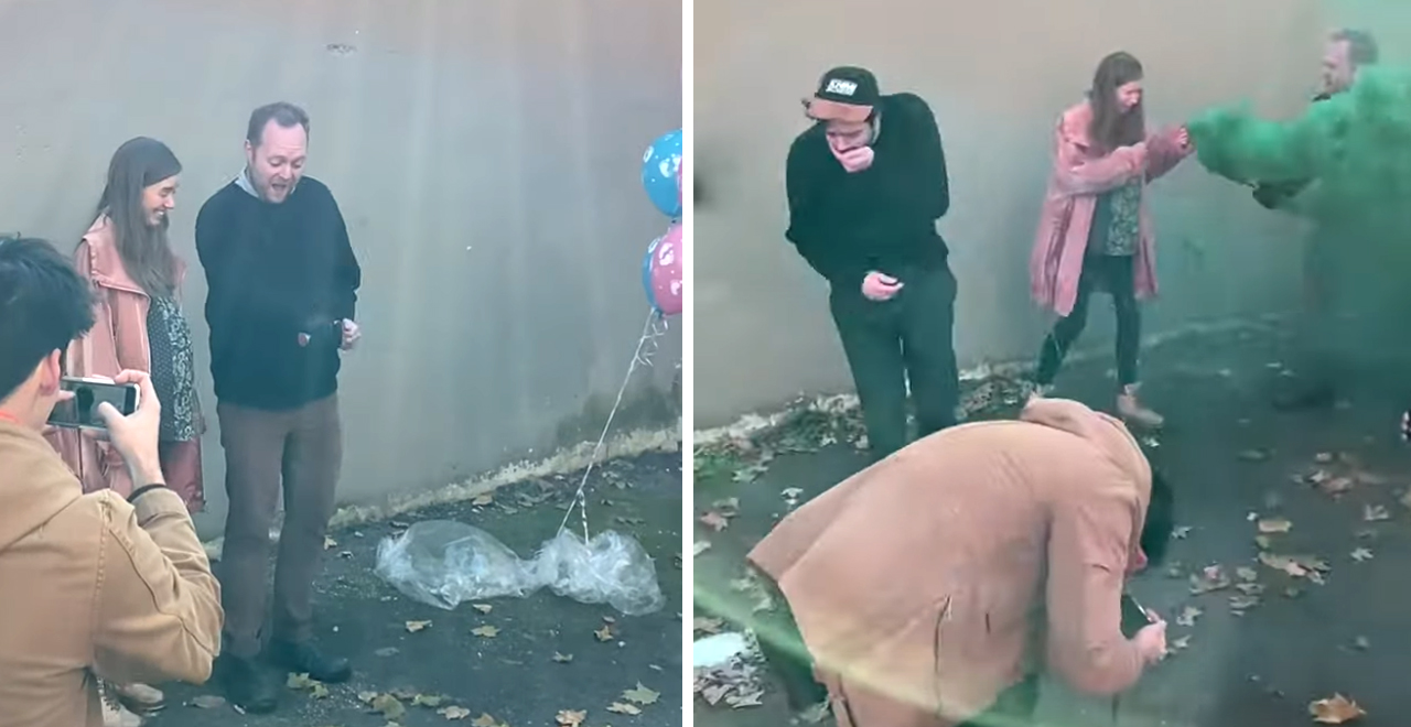Gender Reveal Goes Horribly Wrong