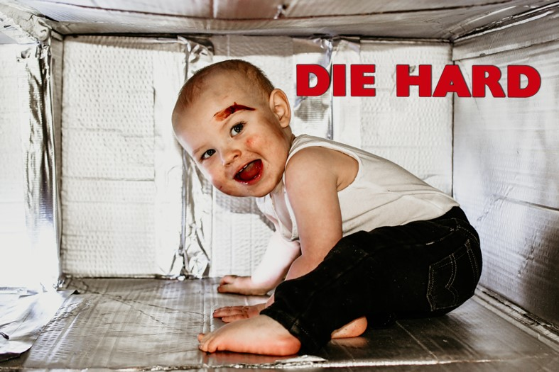 Die Hard Toddler Poster