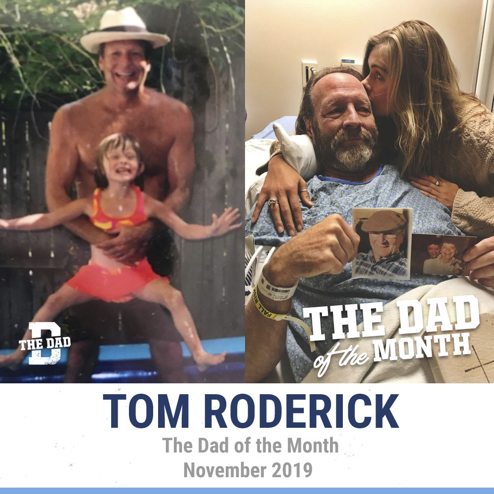 The Dad Of The Month, November 2019: Tom Roderick