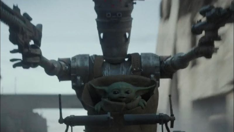 IG and Baby Yoda