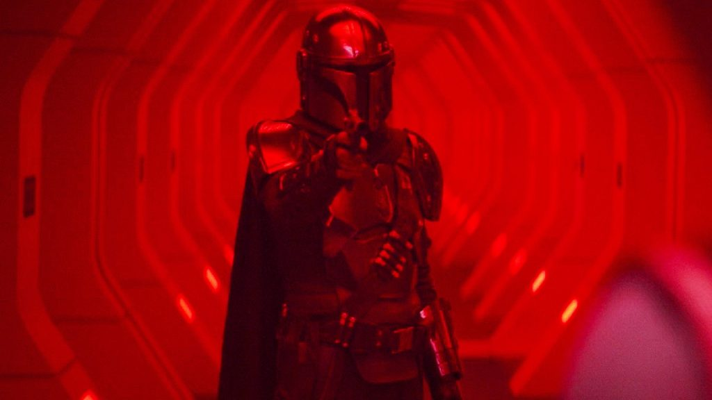 Mandalorian in Red