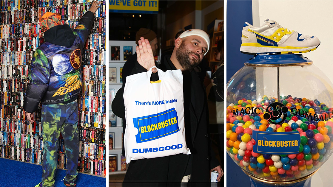 Blockbuster Pop-up in NYC