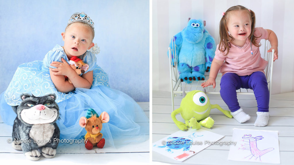 Photographer features Children with Down Syndrome