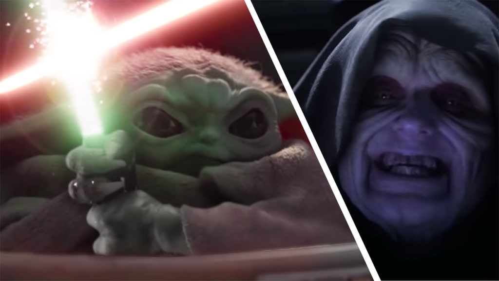 Star Wars Revenge Of The Sith Fan Edit Pits Baby Yoda Against Darth Sidious