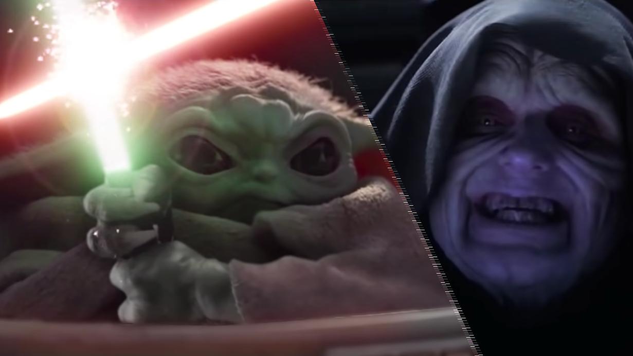 Star Wars Revenge Of The Sith Fan Edit Pits Baby Yoda