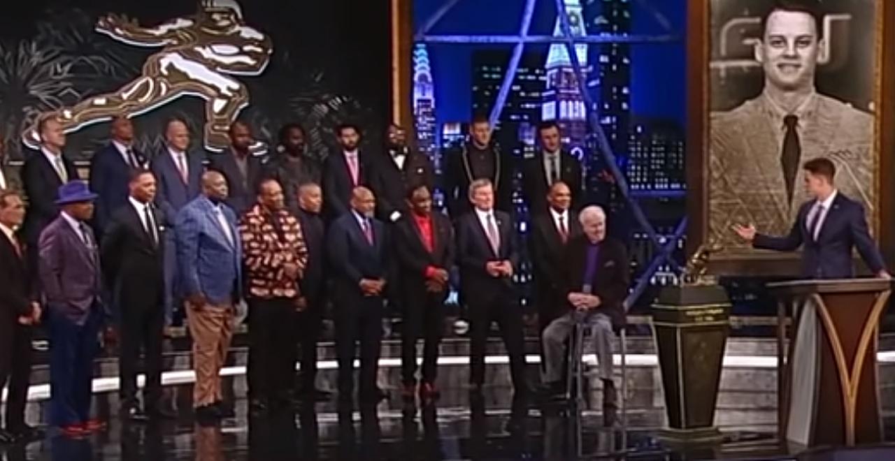 Joe Burrow Heisman Trophy Speech