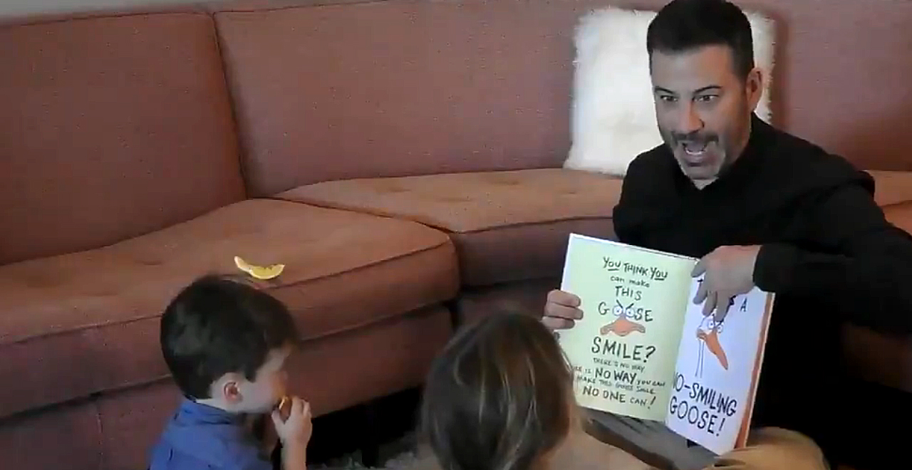 Jimmy Kimmel Reads The Silly Goose