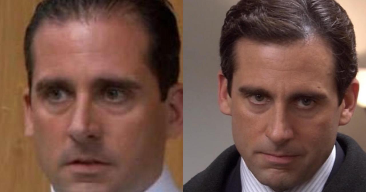 Michael Scott Season 1 vs 2