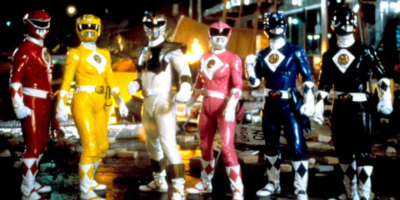 Power Rangers Reboot Set in 90s
