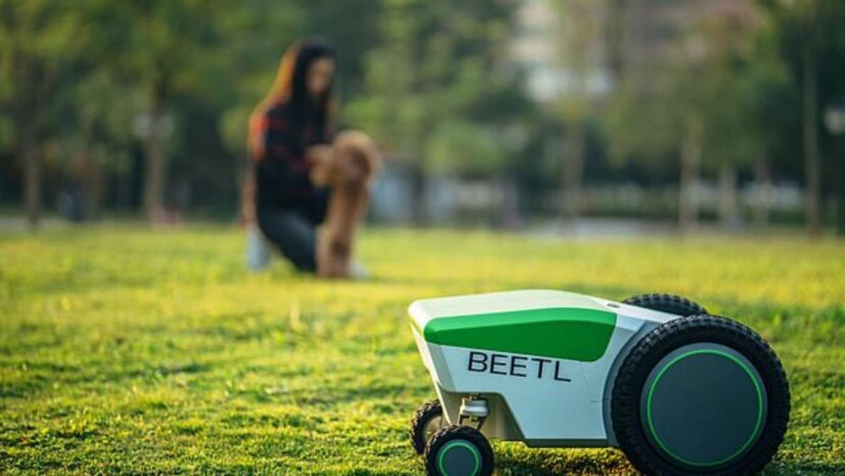 The Beetl Dog Poo Robot