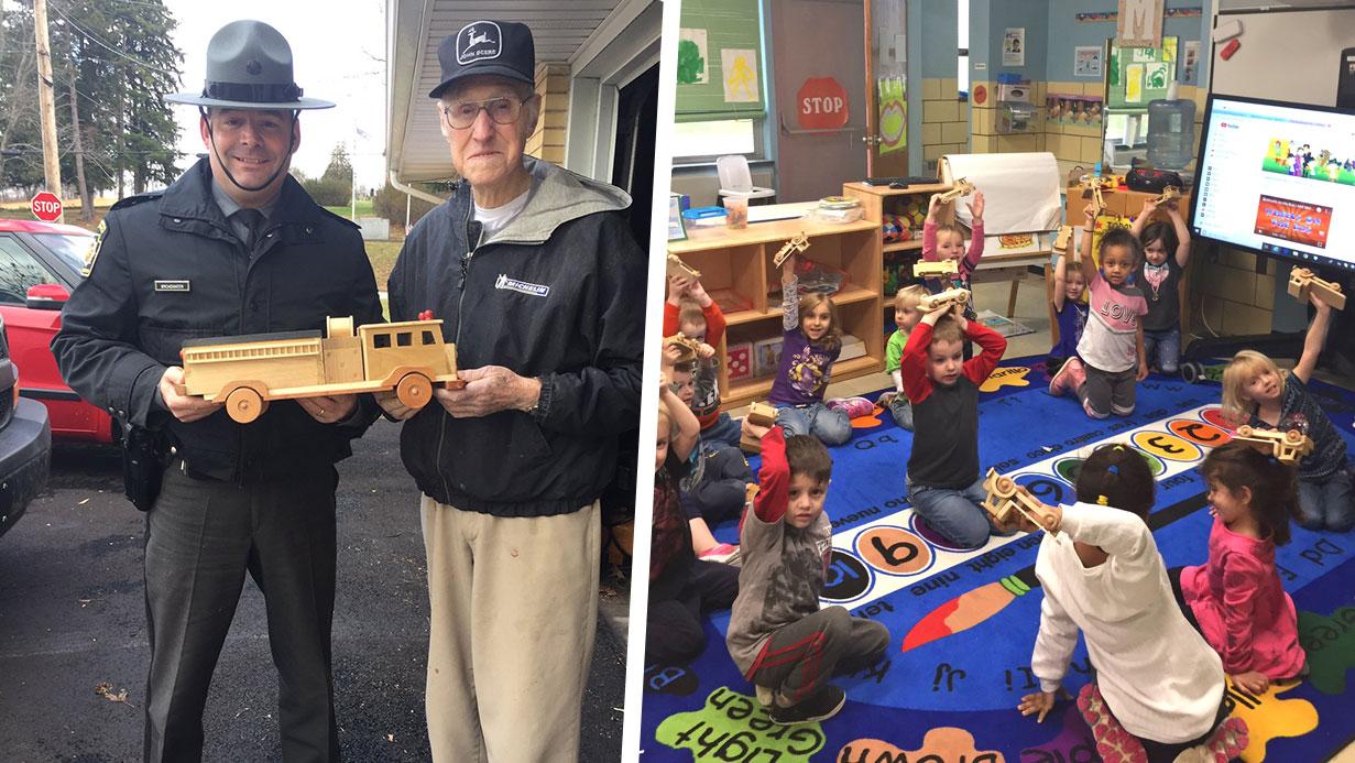 Ed Higinbotham Makes Wood Toys