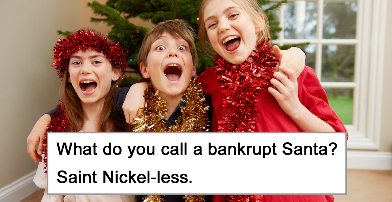 50 Christmas Themed Dad Jokes for Kids to Dial up their Holiday Spirit