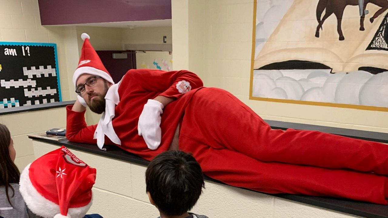 Principal Elf on a Shelf
