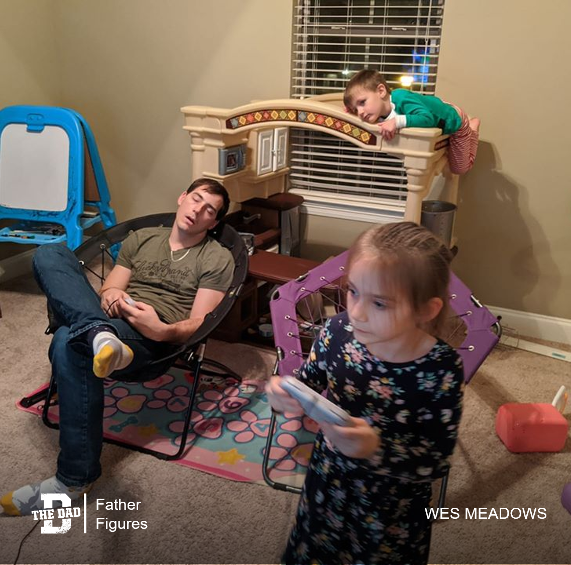 Father Figures: Trying To Do It All