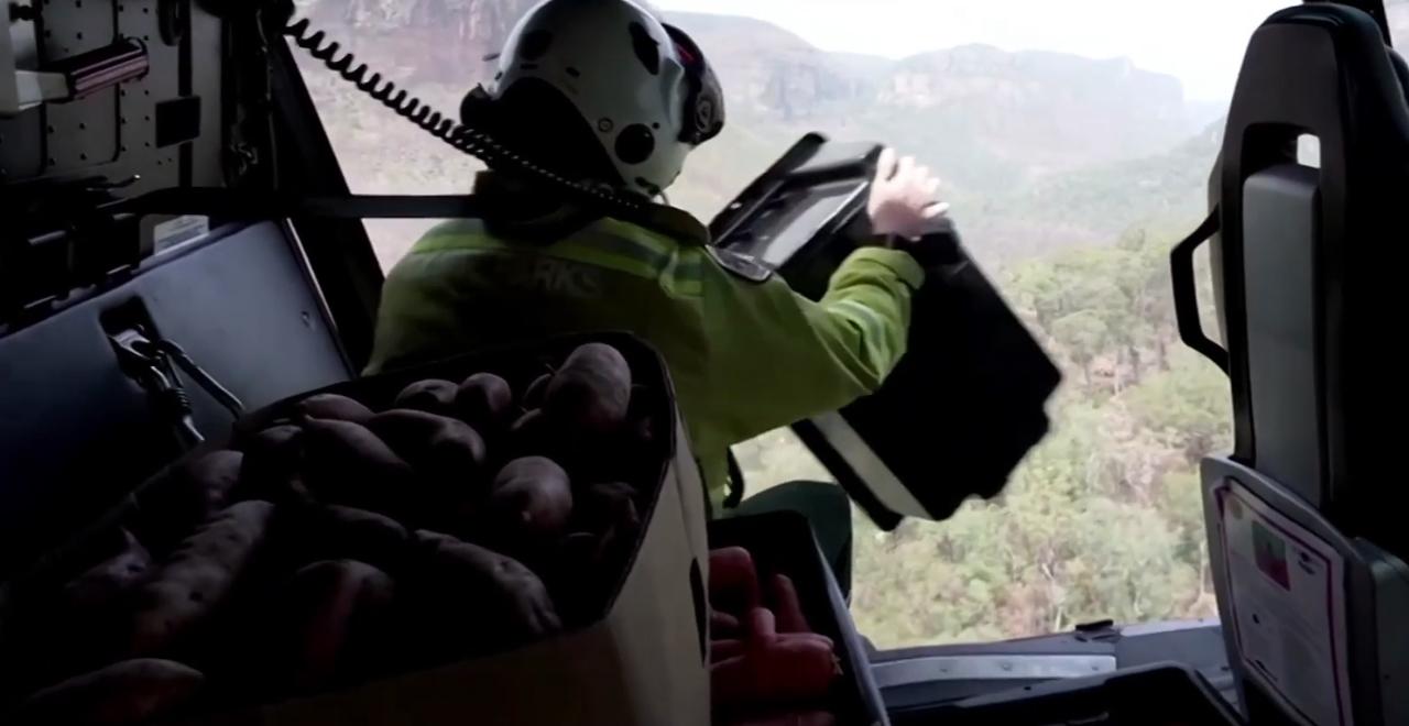 Australia is Airdropping Veggies