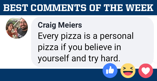 Best Comments of the Week