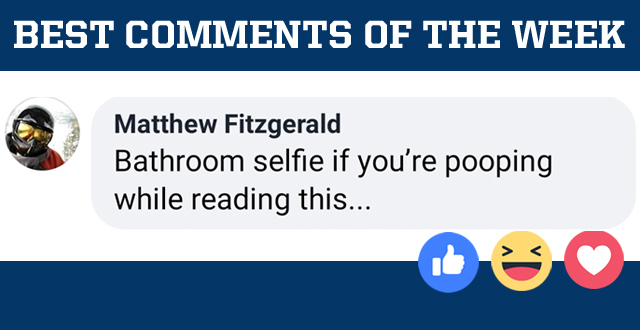 The Best Comments of the Week