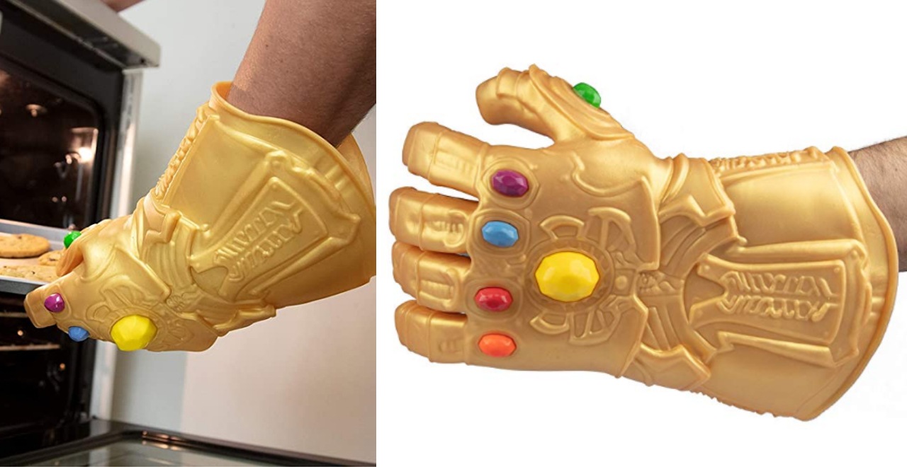 Infinity Gauntlet Silicone Oven Glove