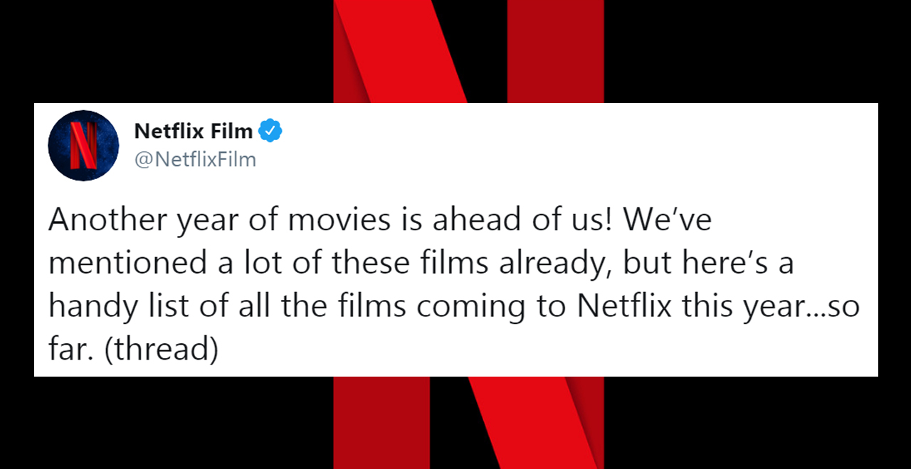 Netflix's 2020 Original Movie Lineup