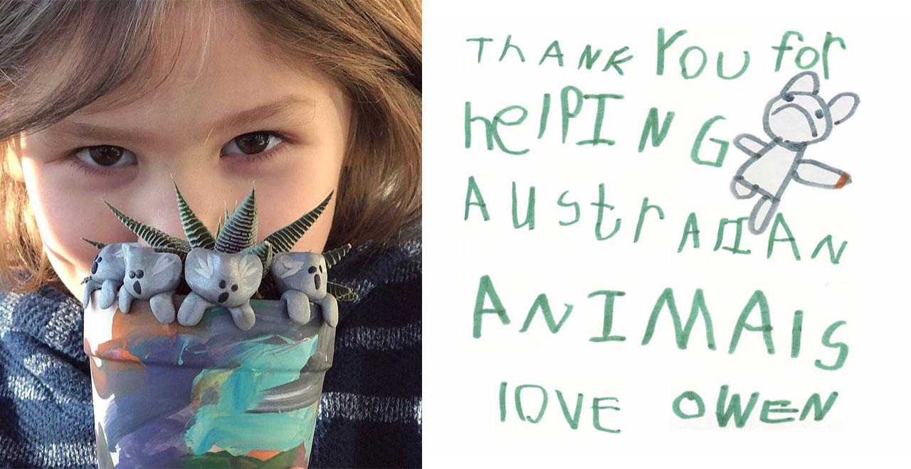 Owen Colley raising money for Australian Bushfires