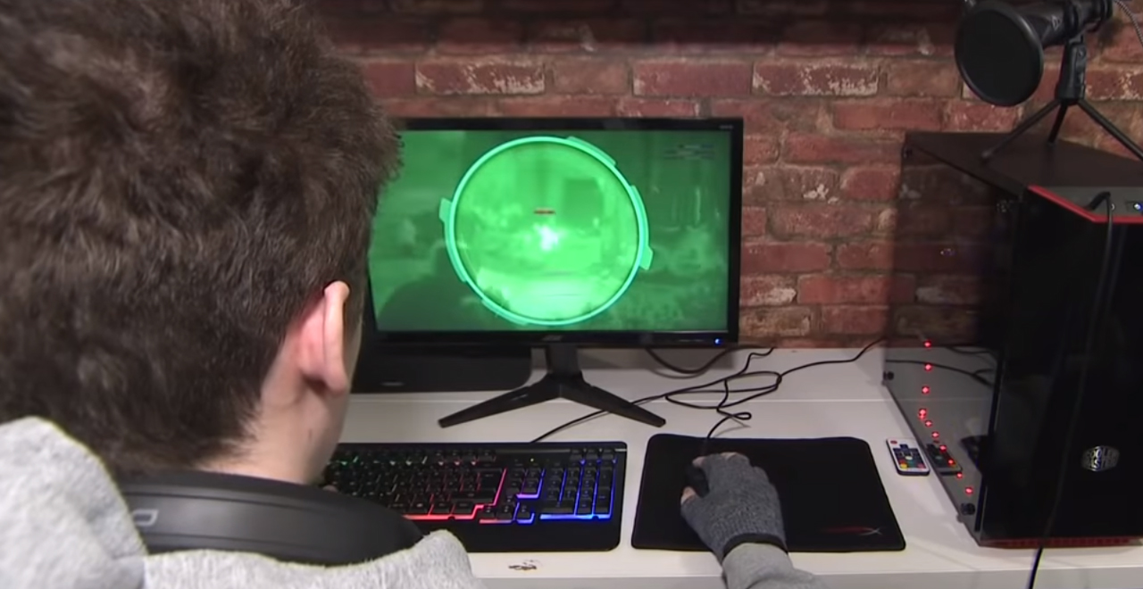 Texas Gamer Saves Teammate