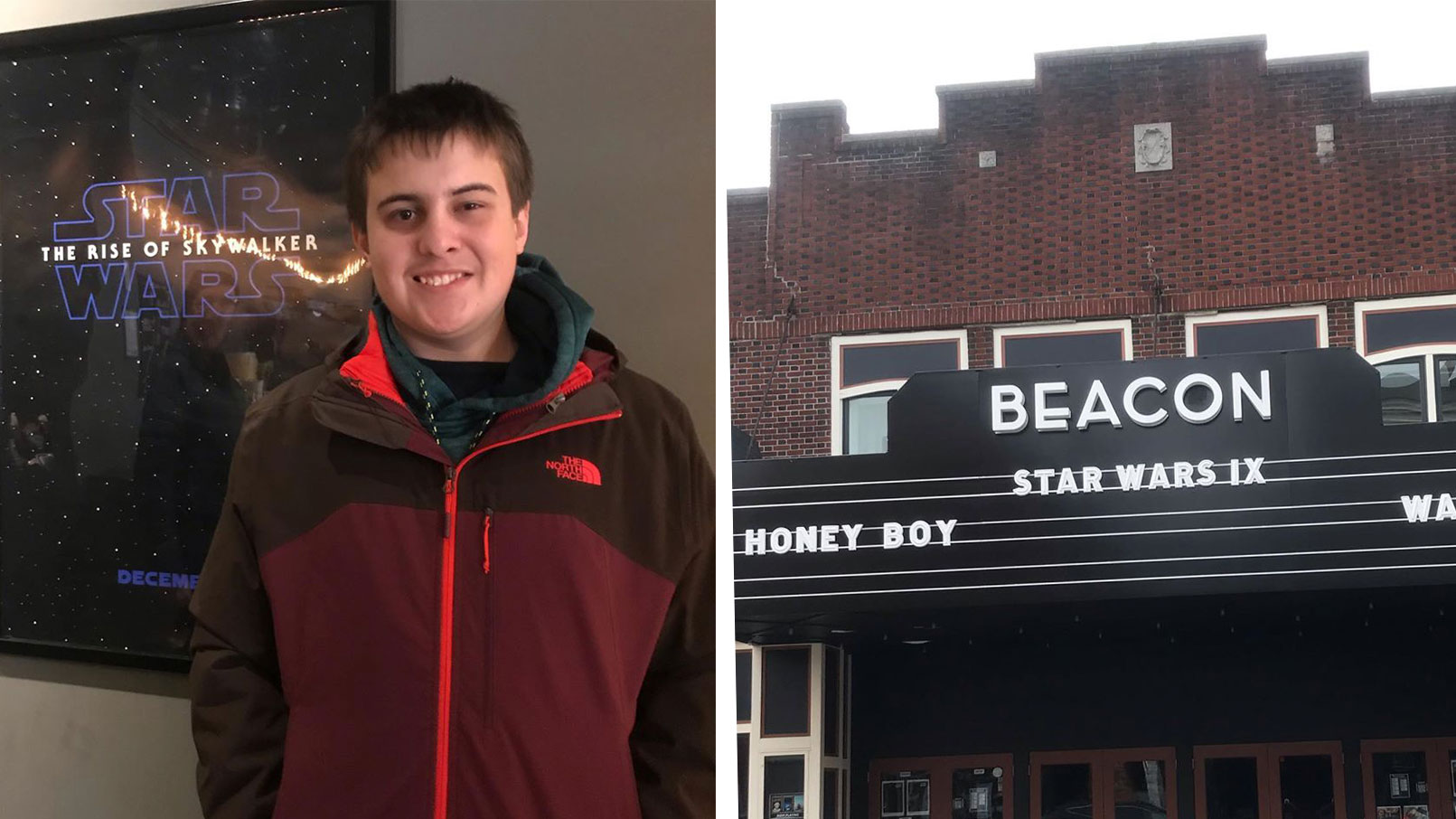 Theater helps teen see Star Wars
