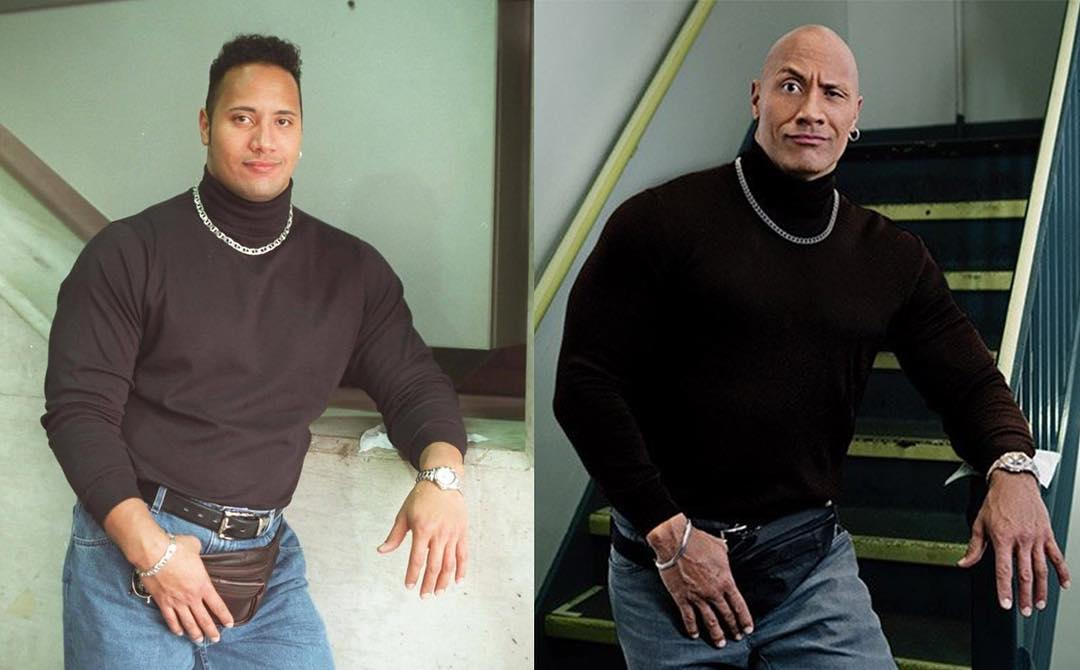 Dwayne Johnson S Youth To Be Immortalized On Tv S Young