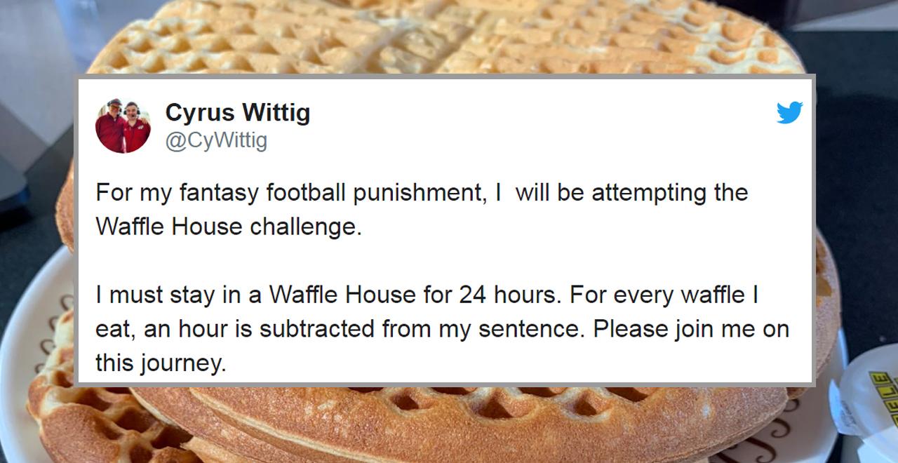 Waffle House Challenge