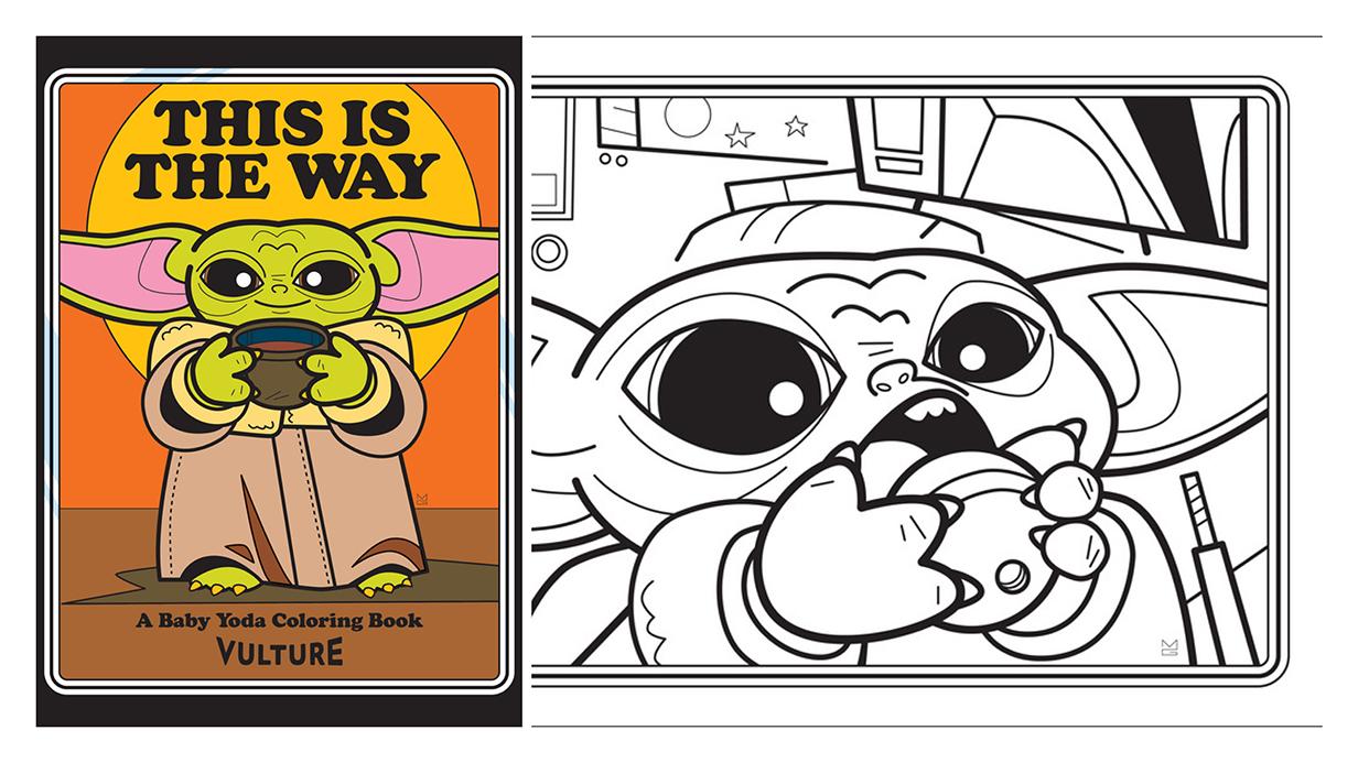 Free Baby Yoda Coloring Book
