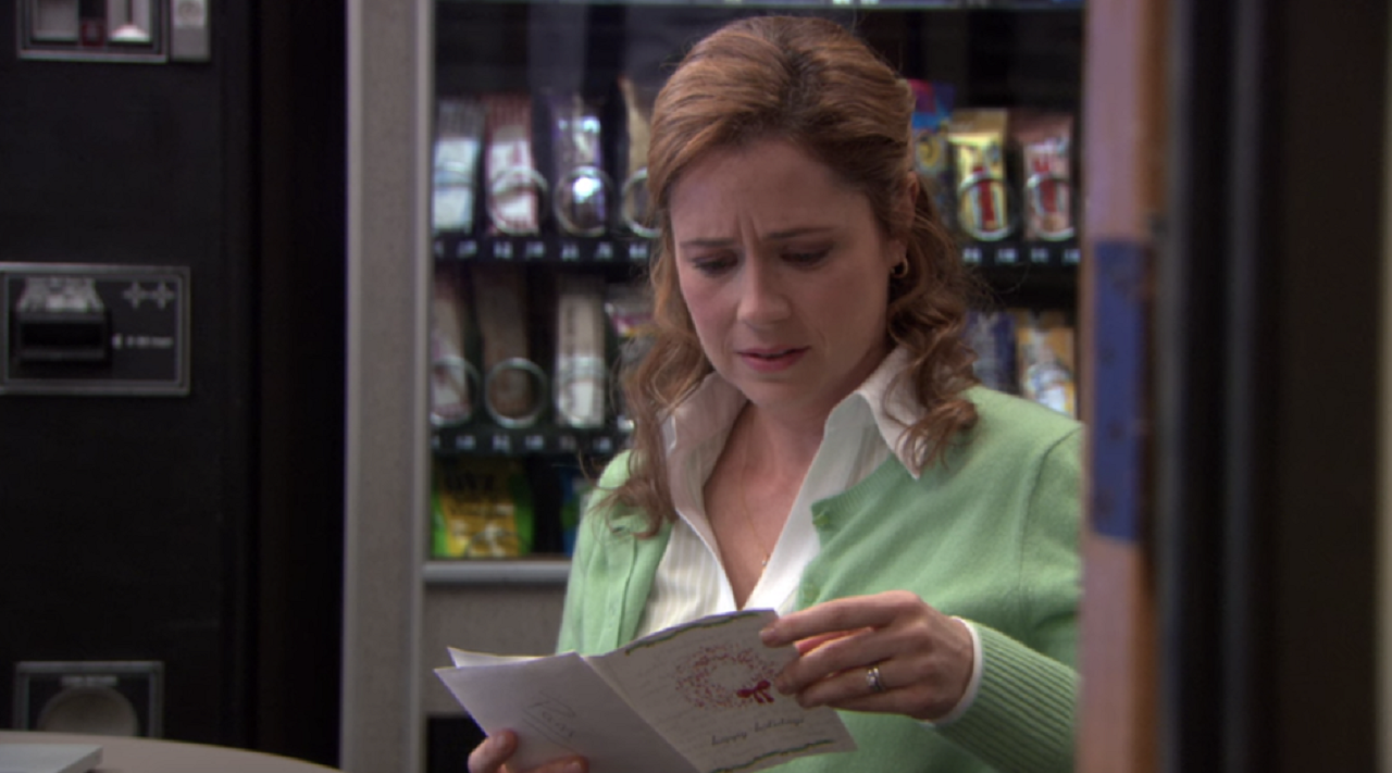 What Was in Pam's Note from Jim?