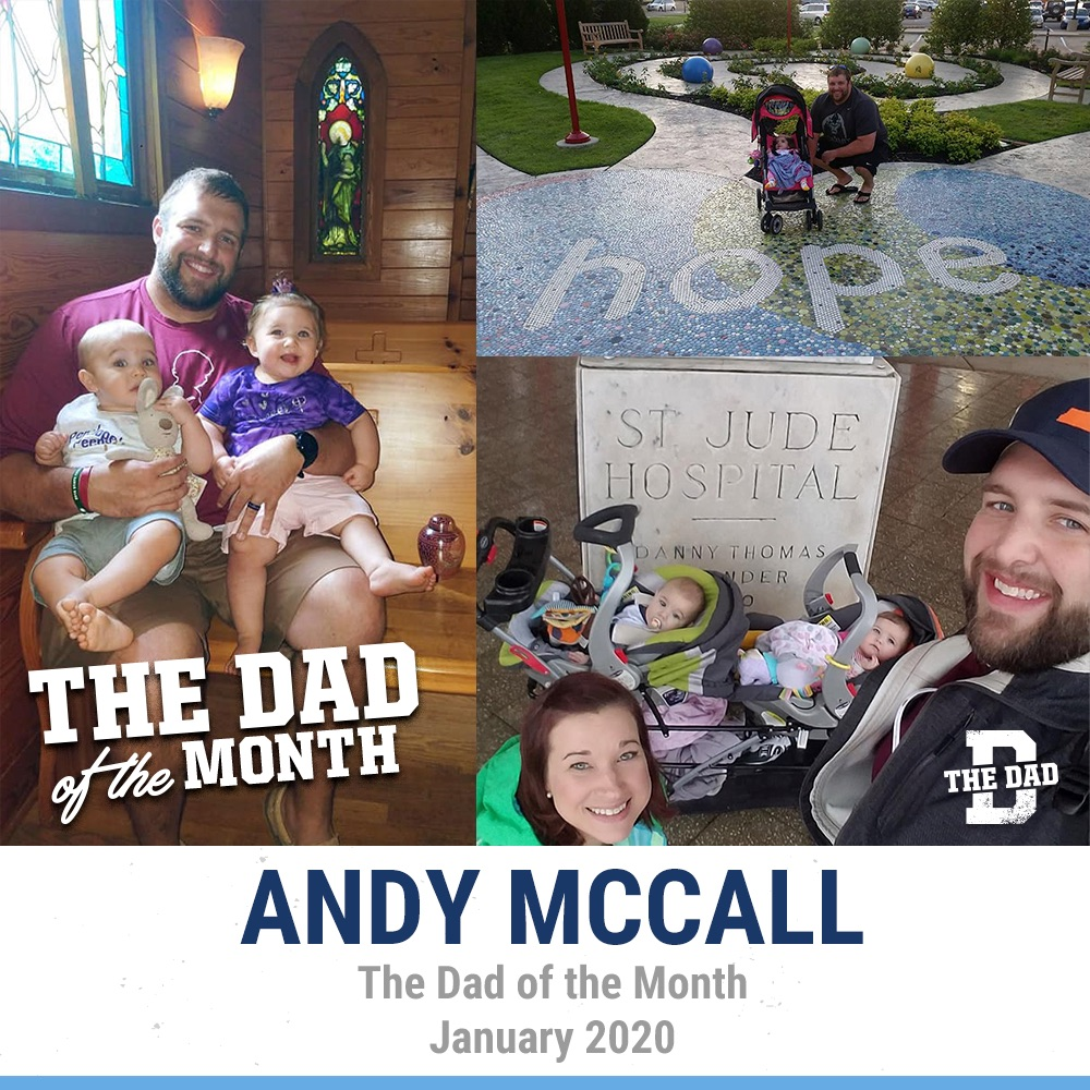 The Dad Of The Month, January 2020: Andy McCall