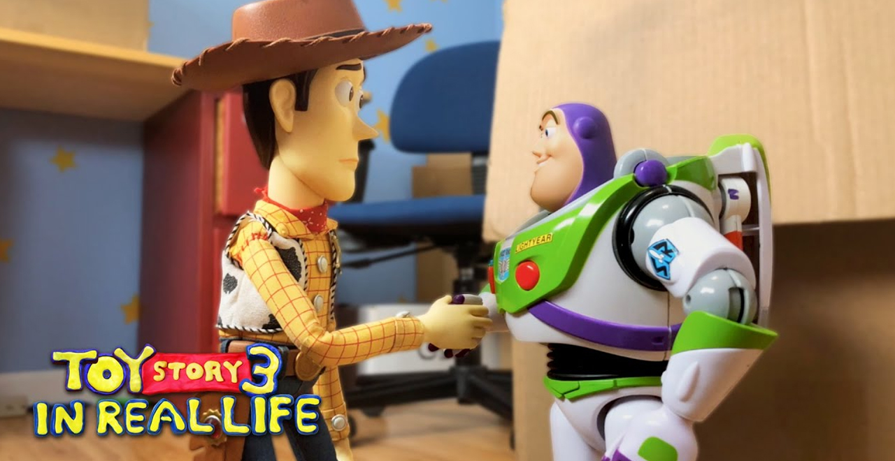 Brothers Recreate Toy Story 3