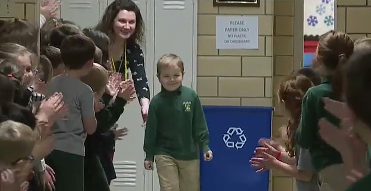 "John Oliver ""J.O."" Zippay Returns to School"