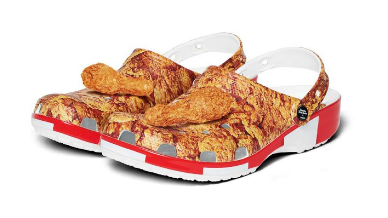 KFC Scented Crocs