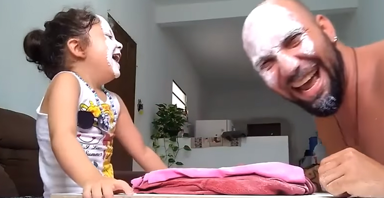 Dad and Daughter Play RPS