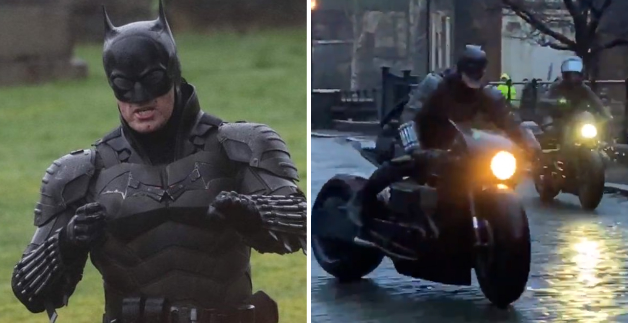 Batsuit and Batcycle Revealed