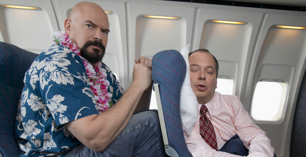 Airline Seat Recline Debate
