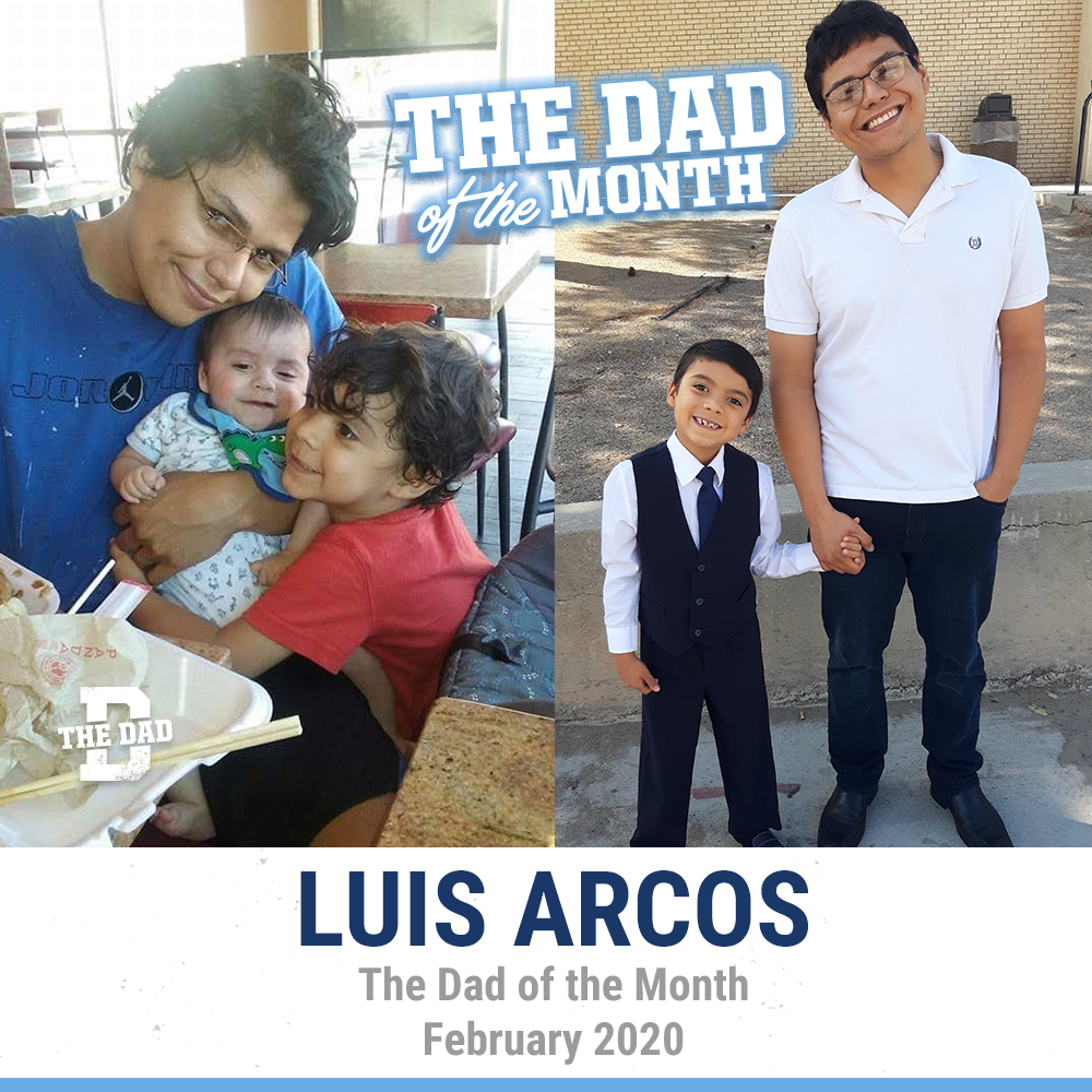 The Dad Of The Month, February 2020: Luis Arcos