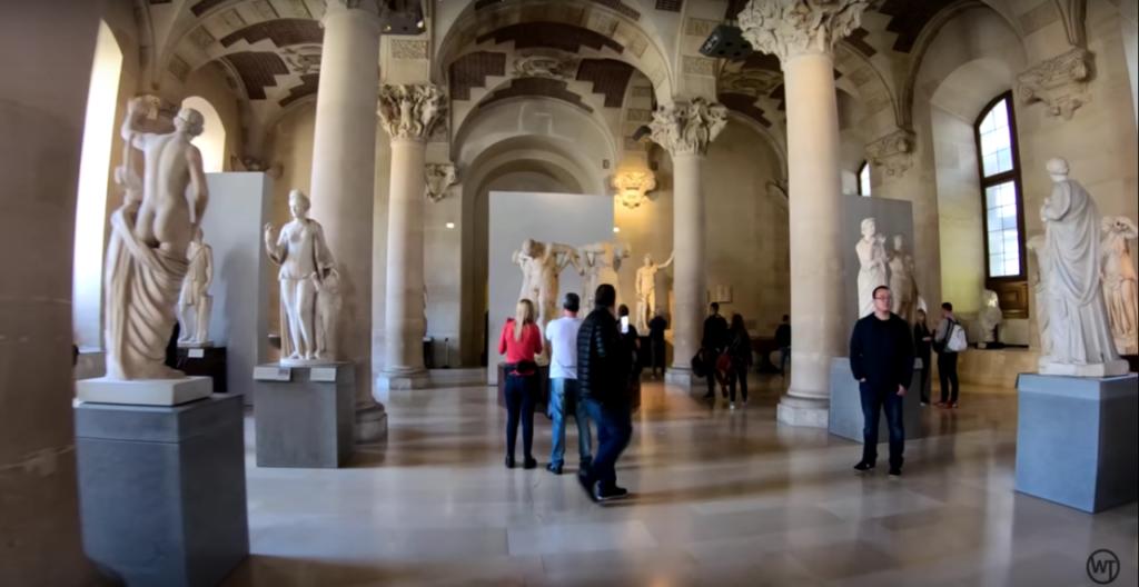 Louvre online tour