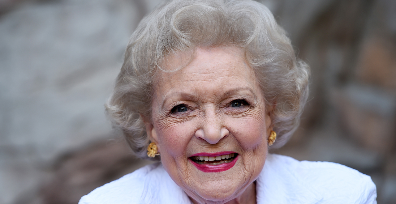 Betty White is OK