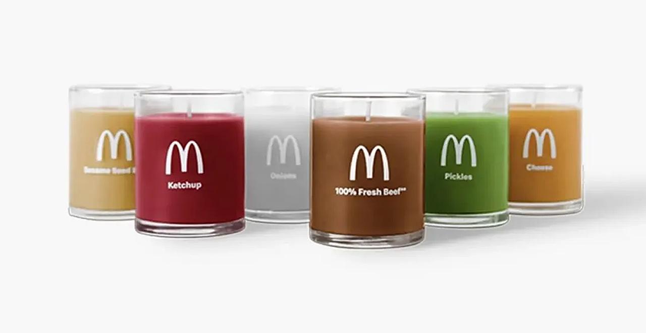 McDonald's Burger Candles